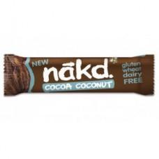 COCOA COCONUT 35GRS (Barra de fruta y frutos secos cruda y sin gluten)|Nakd