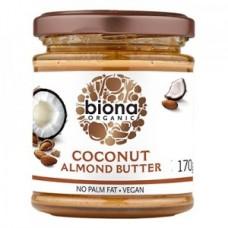 Mantequilla de Almendra y Coco Orgánica 170grs|Biona