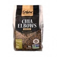 Pasta de Chia Elbows Libre de Gluten 227grs|Sow
