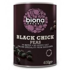 Garbanzos Negros Orgánicos de Biona (BLACK CHICK PEAS ORGANIC 400GRS)