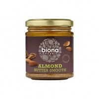 Mantequilla de Almendras Orgánicas 170grs. Biona (ALMOND BUTTER SMOOTH ORGANIC 170GRS)
