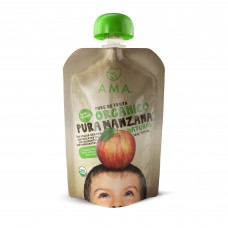 AMA Puré Manzana Orgánico 90g