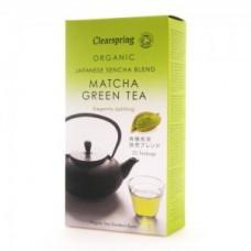 Té Verde Matcha Orgánico 20bags Clearspring (MATCHA ORGANIC GREEN TEA)