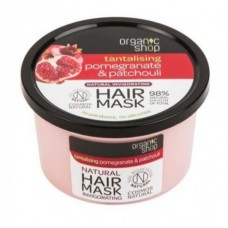Mascara Capilar Granada y Patchuli 250ml Organic Shop