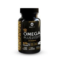 Omega Plus (Fosfolípidos de Omega3) 670mg 60caps de Wellplus