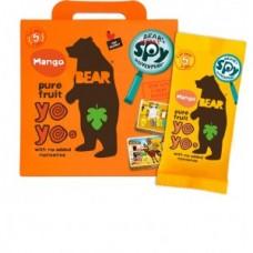 Multipack Rollos de Pura Frutas Bear Yoyos Mango 20grs X 5